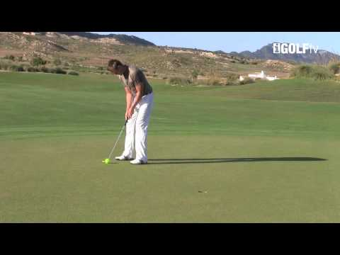 Golf Tips tv: Putting with a tennis ball