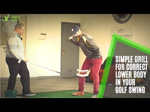 Golf Swing | How To Use The Lower Body in The Downswing