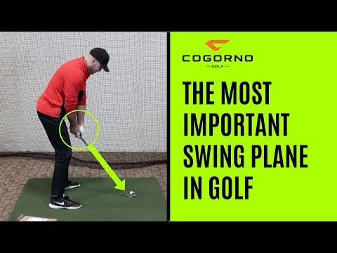 GOLF: The Most Important Swing Plane In Golf