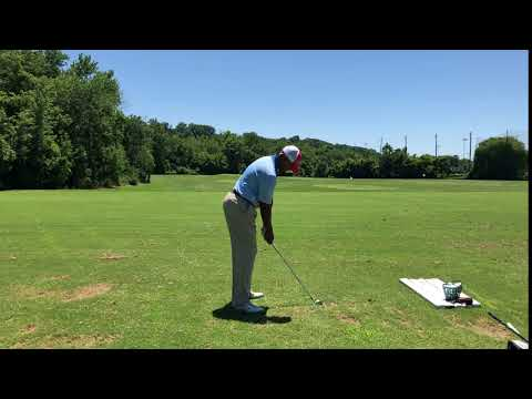 How to hit irons solid
