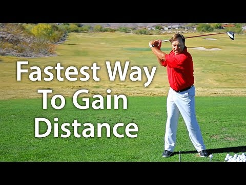 Golf Tip: The Fastest Way To Gain Distance