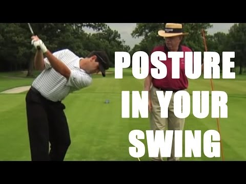 Proper posture in your Golf swing with Dr Jim Suttie