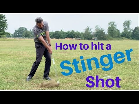 How to hit a stinger shot.