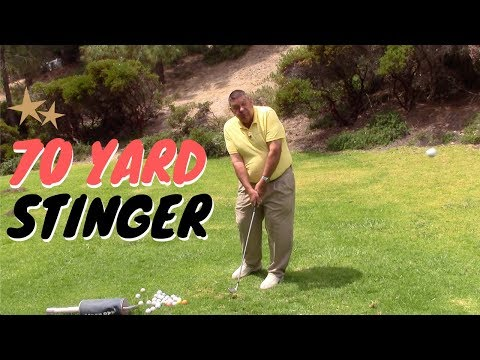 Hit a 70-Yard Stinger or Punch Shot to the Green   | Golf with Darrell