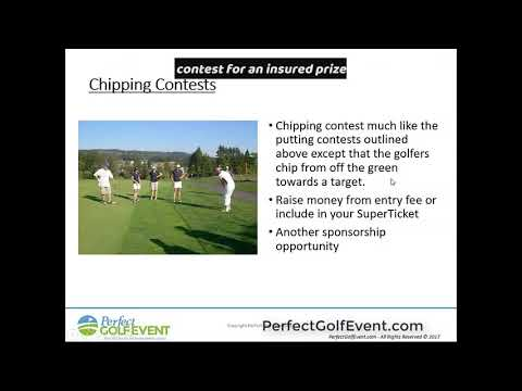 Chipping Contests at Your Charity Golf Fundraiser | Perfect Golf Event