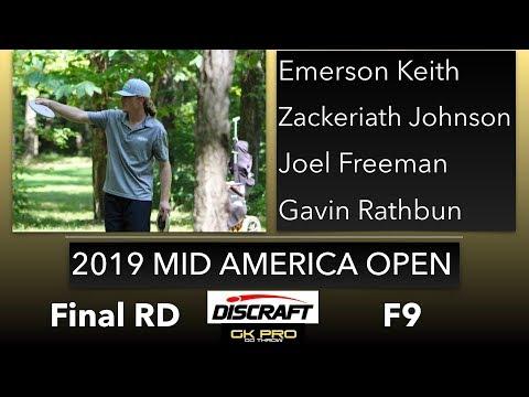 2019 Mid America Open   Final RD, F9, MPO   Keith, Johnson, Freeman, Rathbun