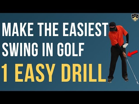 Make The Easiest Swing In Golf 🔥 1 Simple Golf Drill 🔥