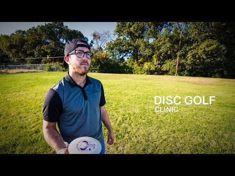 Eric Oakley Disc Golf Clinic | Backhand Throw