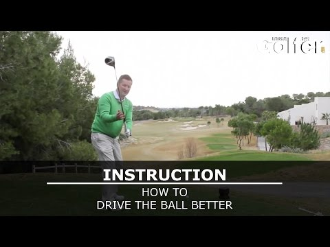 Drive the ball better with this driving drill