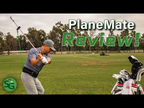 The Best Golf Swing Training Aid? | Tour Striker Golf PlaneMate Review | Mr. Short Game