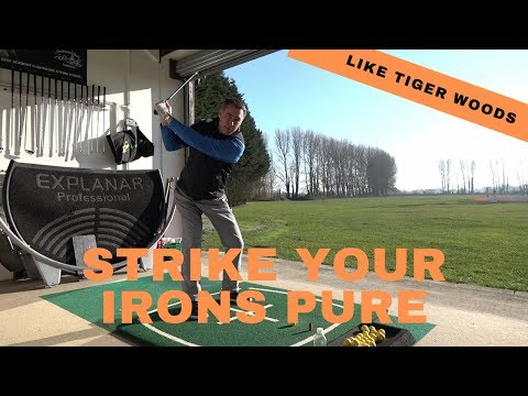 Strike your irons pure like Tiger Woods Masters 2019