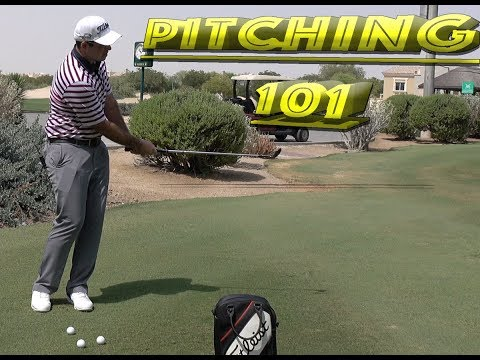 GOLF TIPS – PITCHING 101 – HOW TO SAVE SHOTS AROUND THE GREENS