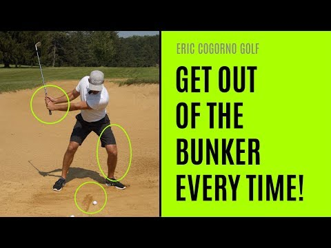 GOLF: Three Keys To Getting Out Of The Bunker Every Time