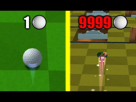 ALL GOLF BALLS! Buying Max Level Stick & Effect In Golf Battle Unlimited Diamond HACK!