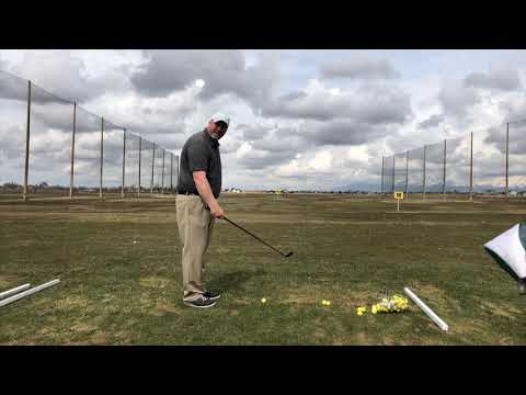Lesson with Shelby and releasing the club.
