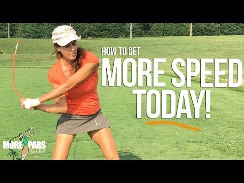Get More Clubhead Speed Today!