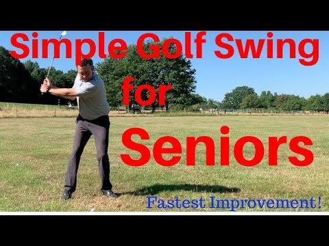 Simple Golf Swing for Seniors.