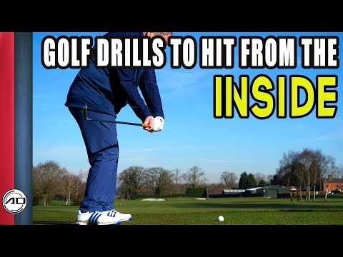 Golf Drills To Hit From The Inside