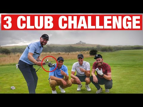 3 CLUB CHALLENGE MATCH AT ST ANDREWS!!