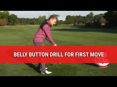 The Oldschool Belly Button Drill – Perfect Your First Move With This Downswing Drill