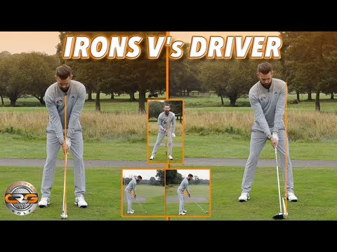 THE SET UP – IRONS V'S DRIVER