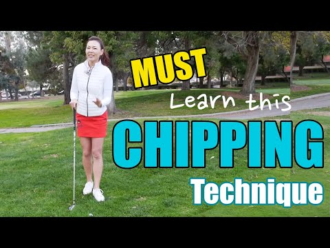 Must Learn Chipping Technique   Golf with Aimee