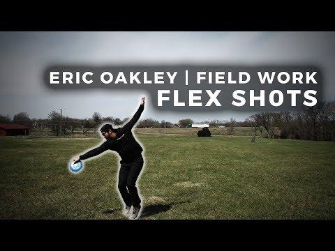 Disc Golf Tips With Eric Oakley   Field Work   Flex Shots