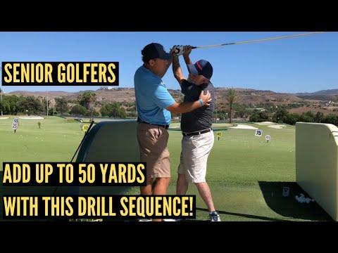 Best Driver Swing Drills for Senior Golfers!