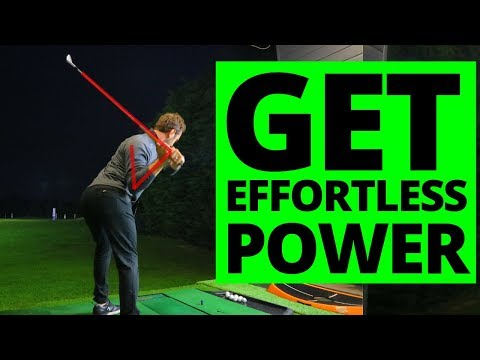 HOW TO GET EFFORTLESS POWER IN YOUR GOLF SWING