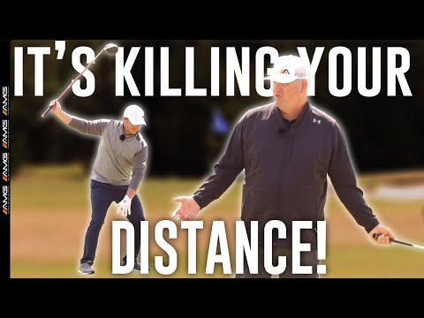 🛑STOP Killing Your Golf Swing Distance With These Tips ☠️