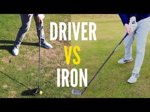 DRIVER VS IRON SET UP BASICS