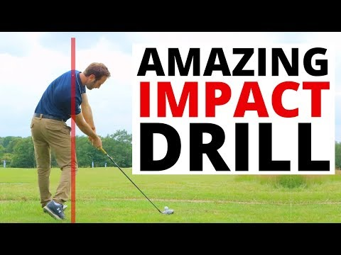 HOW TO COMPLETELY CHANGE YOUR IMPACT WITH ONE EASY GOLF DRILL