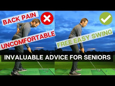THIS IS THE MOST INVALUABLE GOLF LESSON FOR SENIORS
