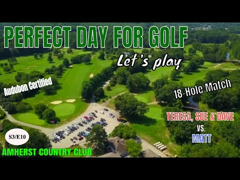 Amherst Country Club – BEGINNER GOLFING IN NEW HAMPSHIRE – Season 3/Episode 10 (2019)