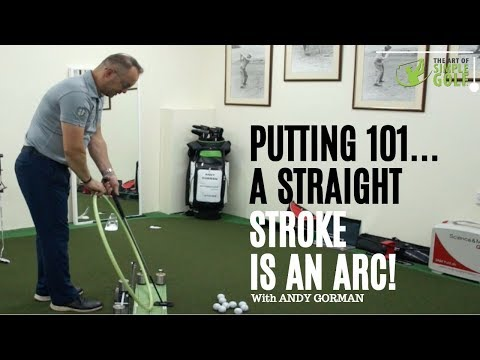 How To Putt Straight With A Perfect Putting Stroke