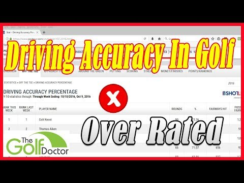 Driving Accuracy – The Most Over Rated Statistic On The PGA Tour
