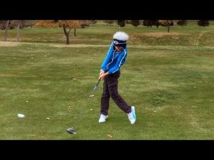 What a 12 Yr old Does to Prepare for Golf Season.