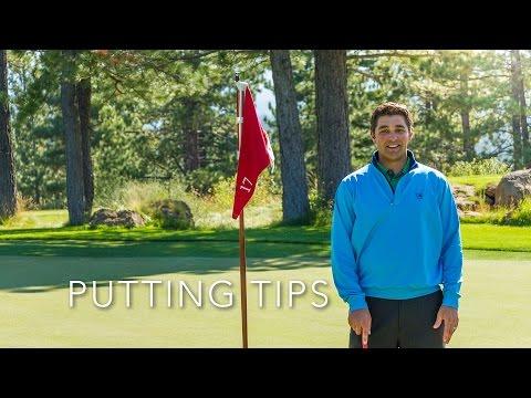 Putting Tips – Aim & Speed