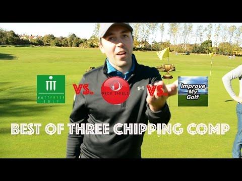 RICK SHIELS & IMPROVE MY GOLF CHIPPING CHALLENGE