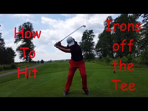 How to Hit Irons with more Power off the Tee