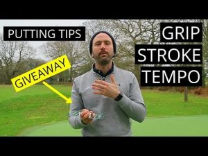 SIMPLE PUTTING TIPS ON GRIP, STROKE, TEMPO PLUS FREE GOLF TRAINING AID COMPETITION