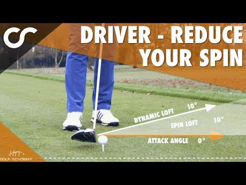 DRIVER – HOW TO LOWER YOUR SPIN