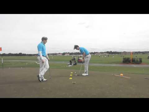 Golf Tips Putting Challenge – Putt in between Tees