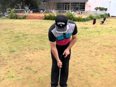 Golf Tips putting drill