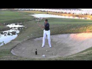 Golf Tips tv: Champagne Bunker Shots (Left Arm Only)