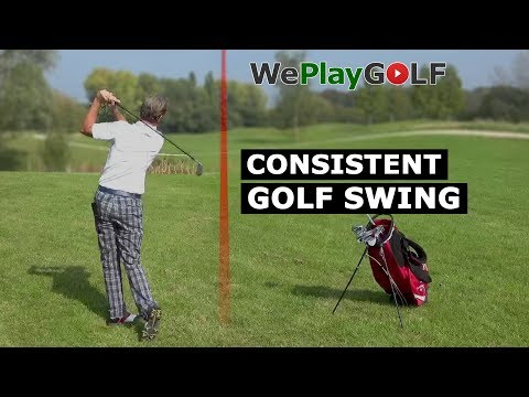 This is how you can get a CONSISTENT GOLF SWING, always the same rhythm in the back swing
