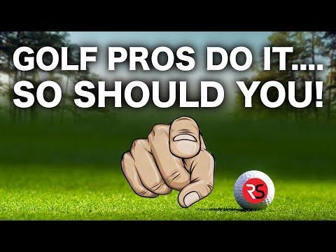 PRO GOLFERS DO IT….. SO SHOULD YOU!
