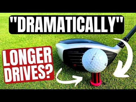 "The Golf Tee That Hits ""DRAMATICALLY LONGER DRIVES"""