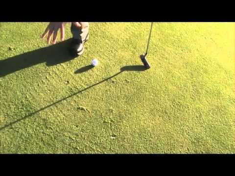 Putting Tip – Starting the Ball Straight in Putting