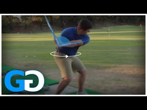 Golf Tips: HOW TO PUSH OFF THE RIGHT SIDE